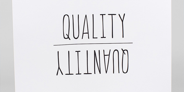Quality Over Quantity: When It's Worth It - Not Dead Yet Style